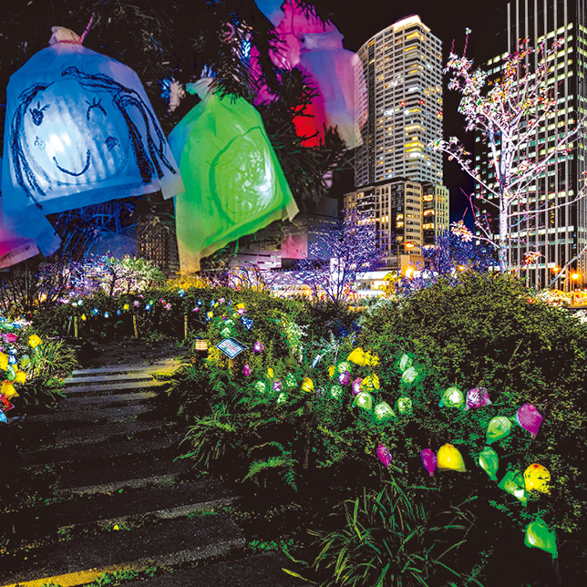 "Nakanoshima-west Smile Art Project ""Hikari no Mi"""